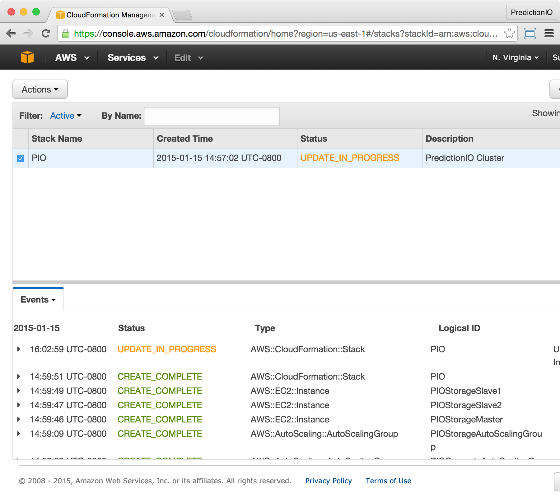Deploying with AWS CloudFormation