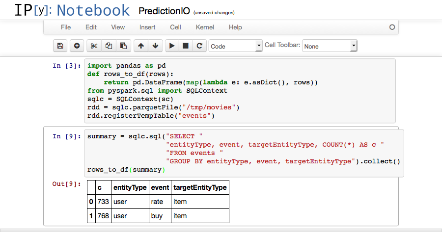 Machine Learning Analytics with IPython Notebook