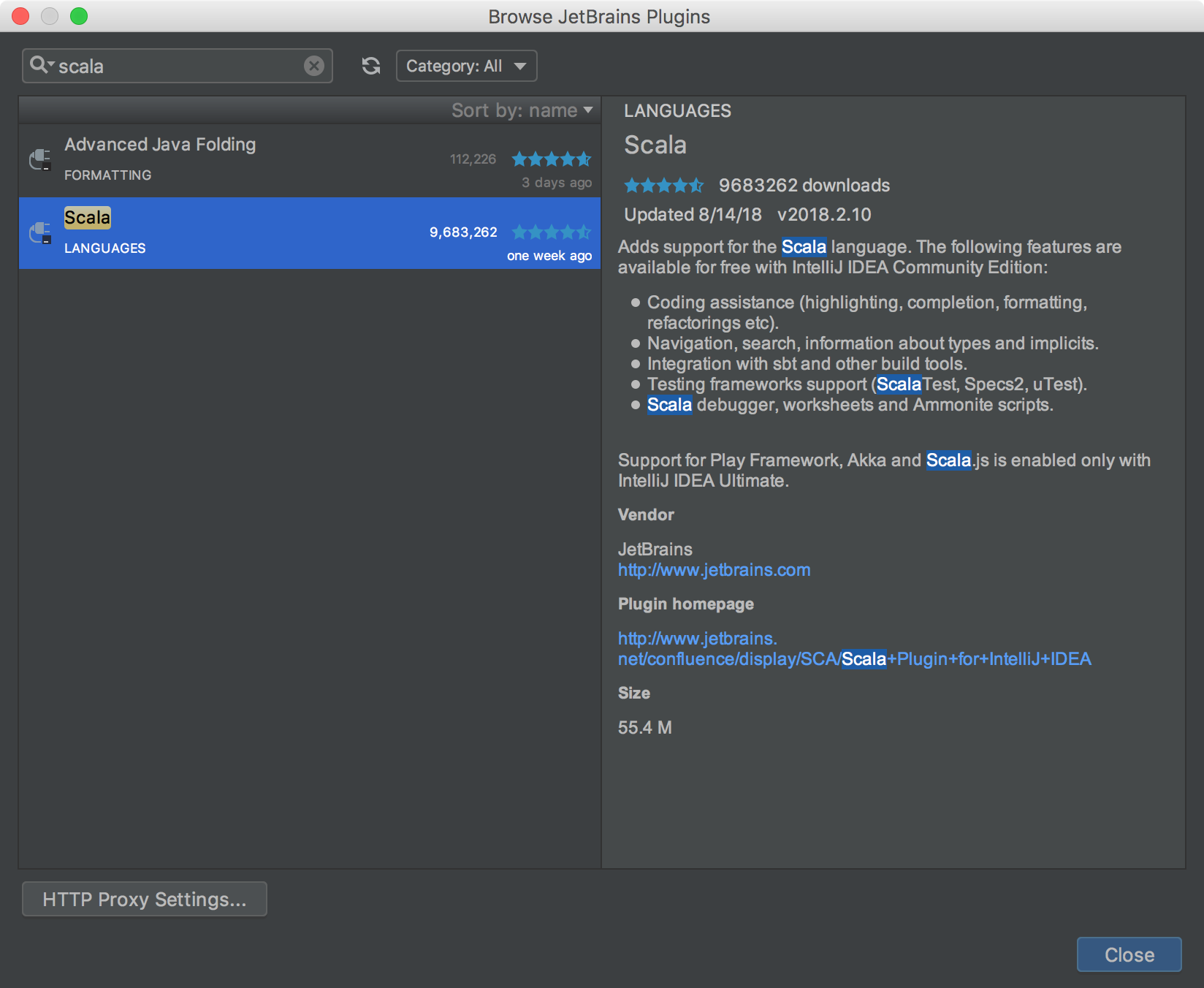 Developing Engines with IntelliJ IDEA